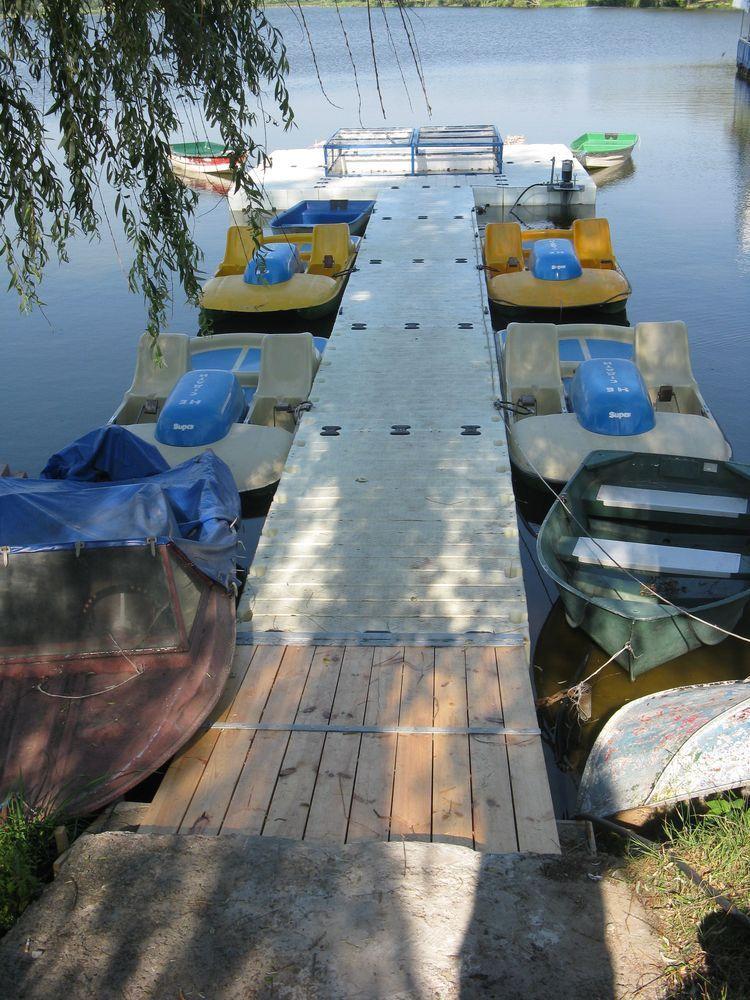 причал для лодки пвх